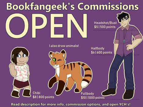[CLOSED! PRICES CHANGED] Commission Info