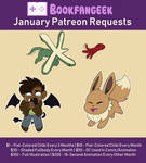 January Patreon Requests