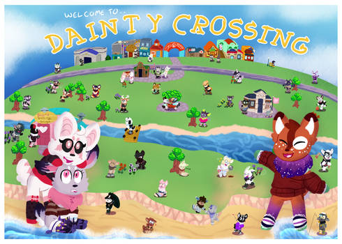 [DD   Prompt] Welcome to Dainty Crossing