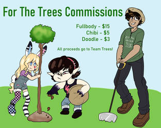 [CLOSED] For the Trees! Commissions by bookfangeek