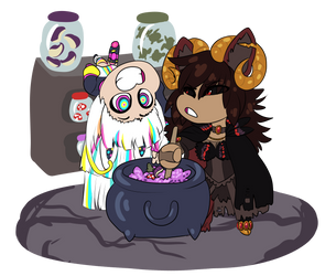 [DD | Prompt] Toil and Trouble