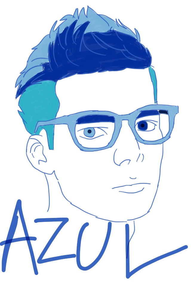 Azul by RaquelFOB