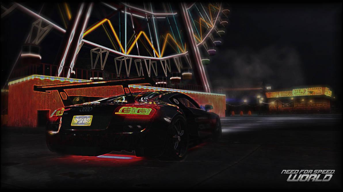 NFS World Audi R8 4.2 Wallpaper