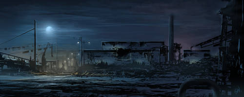 Industrial Zone_CS by SimonWeaner