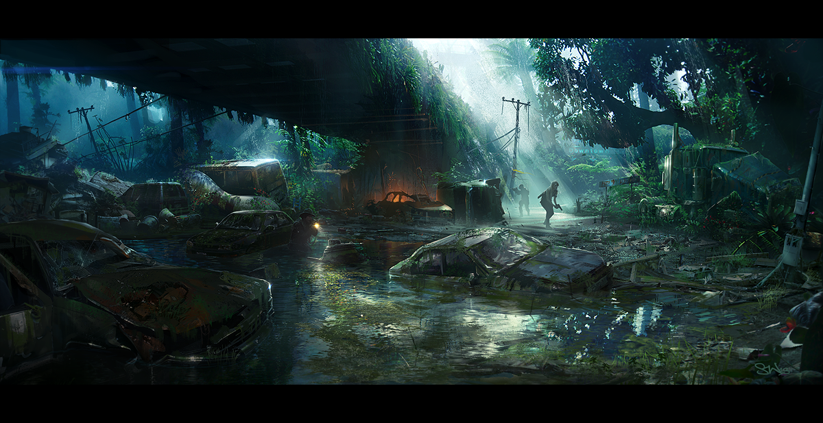 Last of Us by SimonWeaner