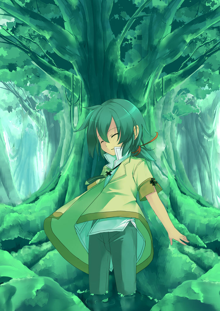 Green world by nyorinyori