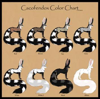 Cacofendox color chart -hi res by Krissyfawx
