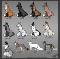 Fox av color chart by Krissyfawx