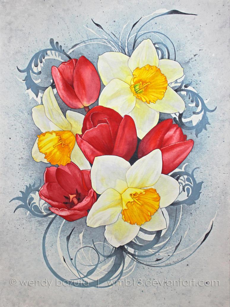 Spring Flowers by wendyBAZUTA