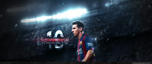 Leo Messi by fraH2014