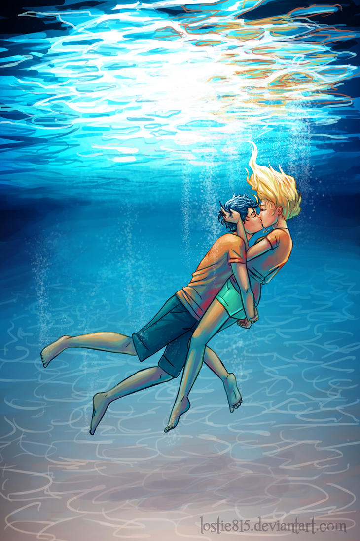 Underwater Kiss by lostie815
