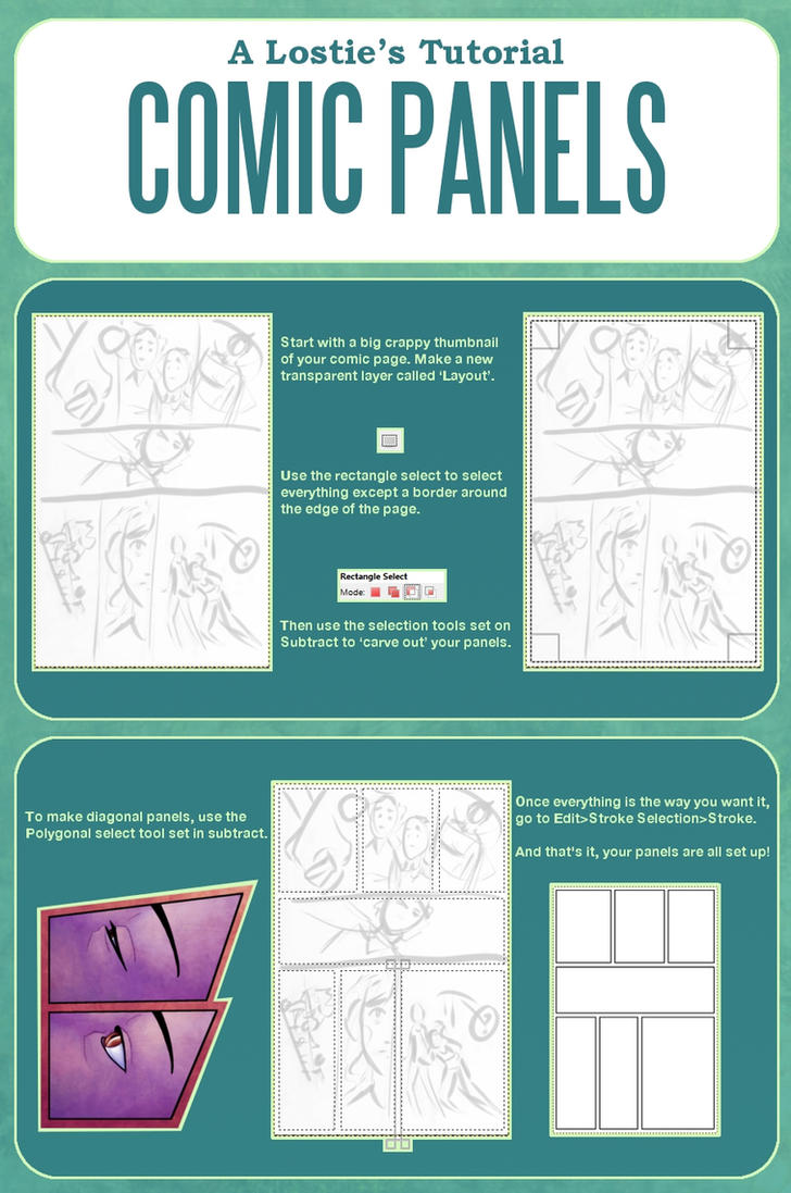 A losties tutorial comic panels and layouts by a losties tutorial comic panels and layouts by laurahollingsworth baditri Gallery