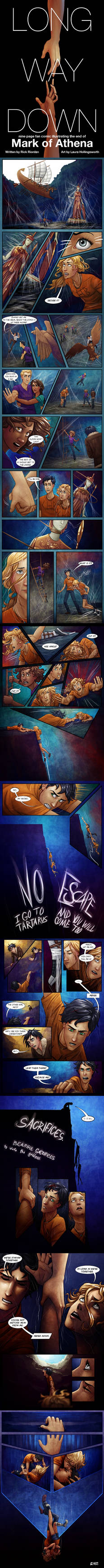 Long Way Down - Complete Comic - Mark of Athena