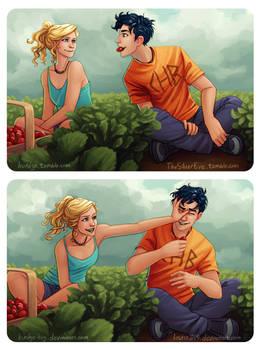 Percabeth Strawberries by Burdge-Bug