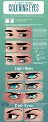 A Lostie's Tutorial - Coloring Eyes by LauraHollingsworth