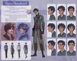 The Silver Eye - Apen Shephard Character Sheet