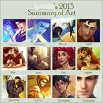 Lostie815's 2013 Art Summary