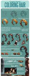Hair Coloring Tutorial by LauraHollingsworth