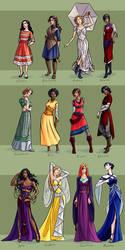 Ladies of The Silver Eye by LauraHollingsworth