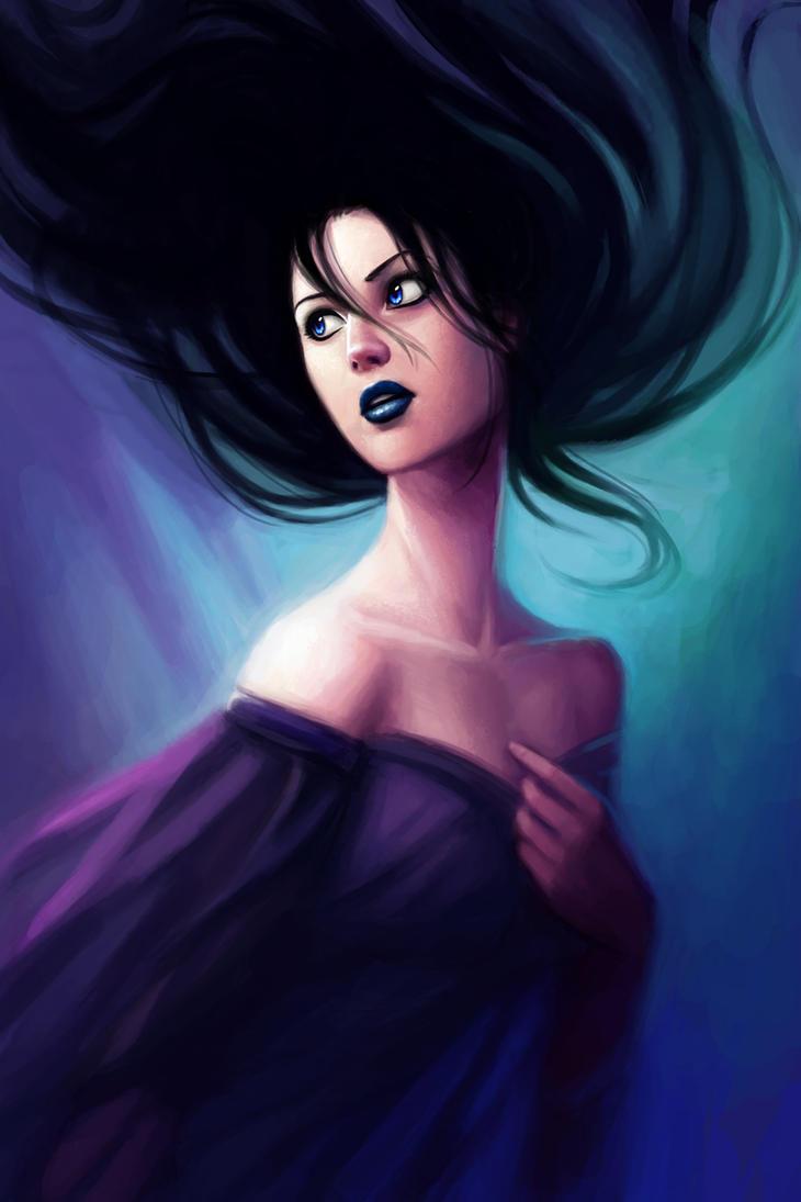 The Silver Eye - Melete by LauraHollingsworth