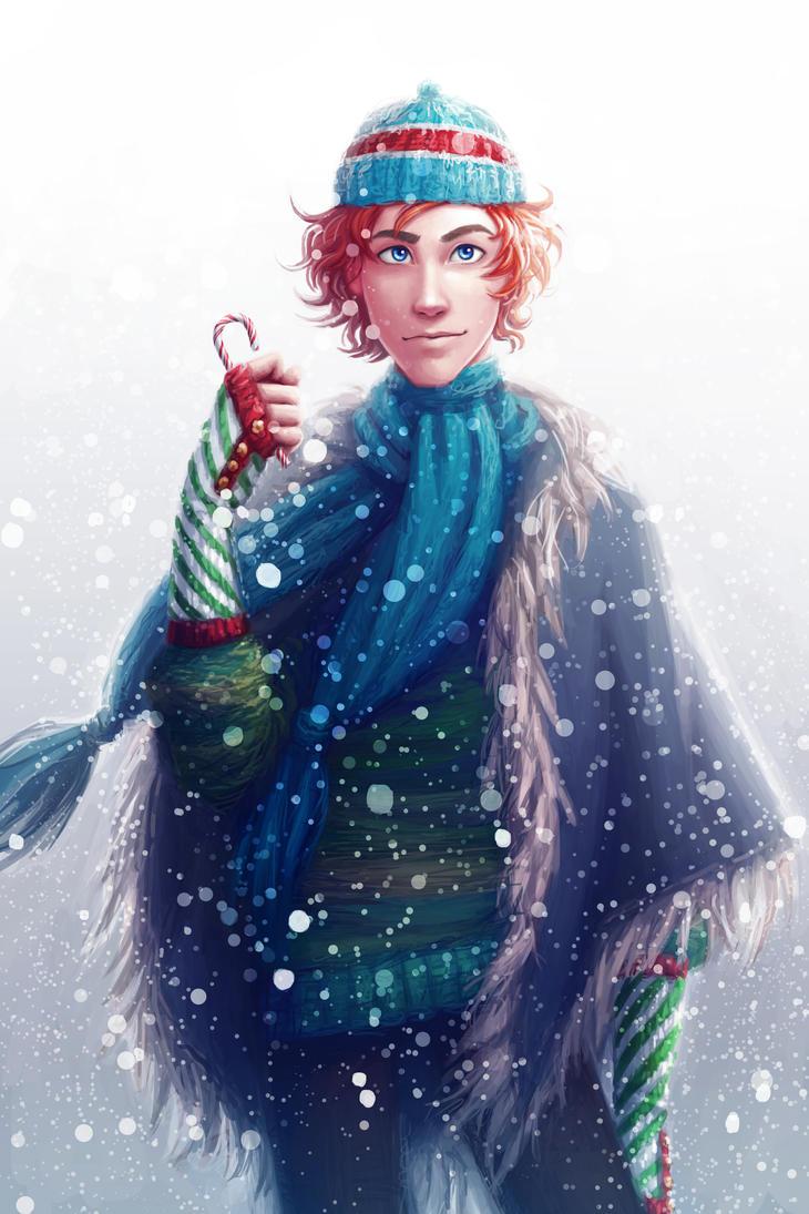The Silver Eye - Winter Enel by lostie815