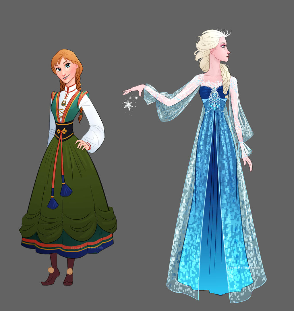 Frozen anna dress image