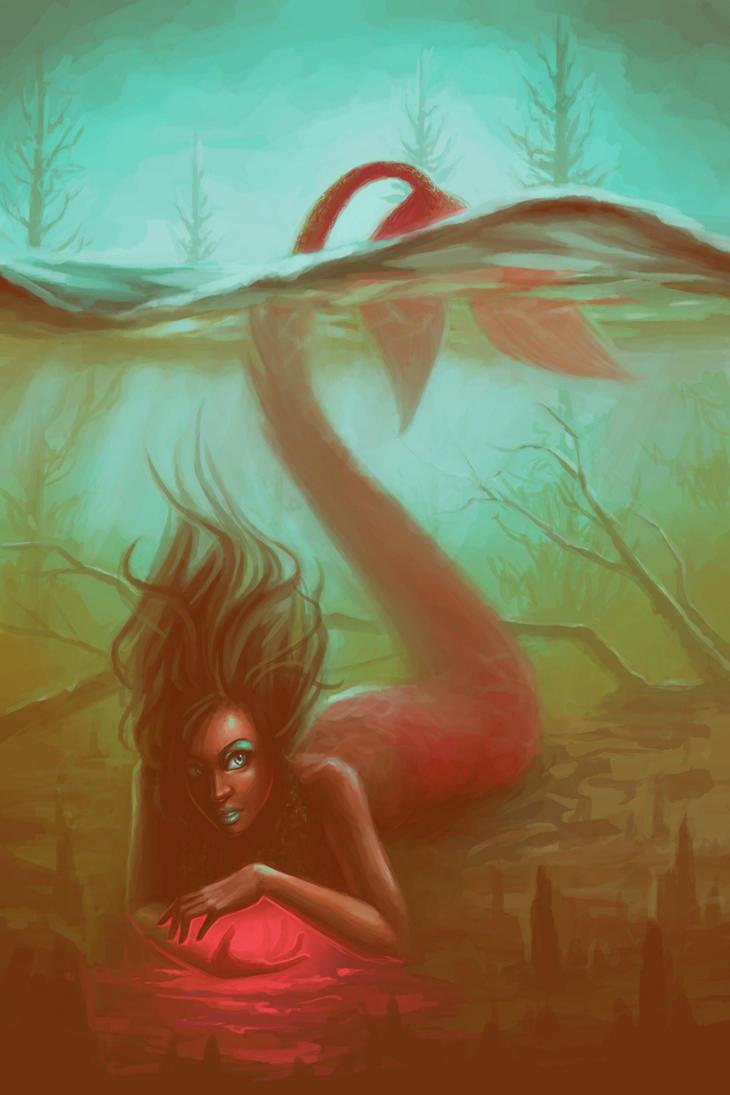 Swamp Mermaid by lostie815