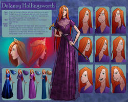 The Silver Eye - Delaney Character Sheet by LauraHollingsworth
