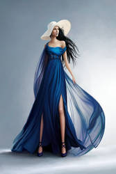 The Silver Eye - Melete in the Blue Gown