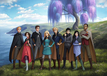 Keeper of the Lost Cities Characters by LauraHollingsworth