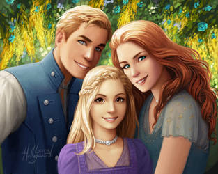 Keeper of the Lost Cities - Grady, Sophie, Edaline by LauraHollingsworth