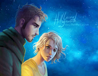 The Silver Eye - Noah and Idony Redraw by LauraHollingsworth