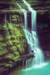 Mossy Waterfall (+Process Video)
