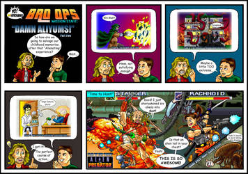 Yo! Videogames BRO OPS: Damn Aliyums! (2 of 2)