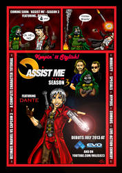 Assist Me! Season 3: Featuring Dante by Solariskaliber