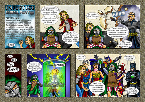 Yo! Injustice: Zodfall (2 of 2)