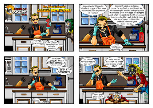 ASSIST ME! Extended Play #1:  Cooking with Wesker