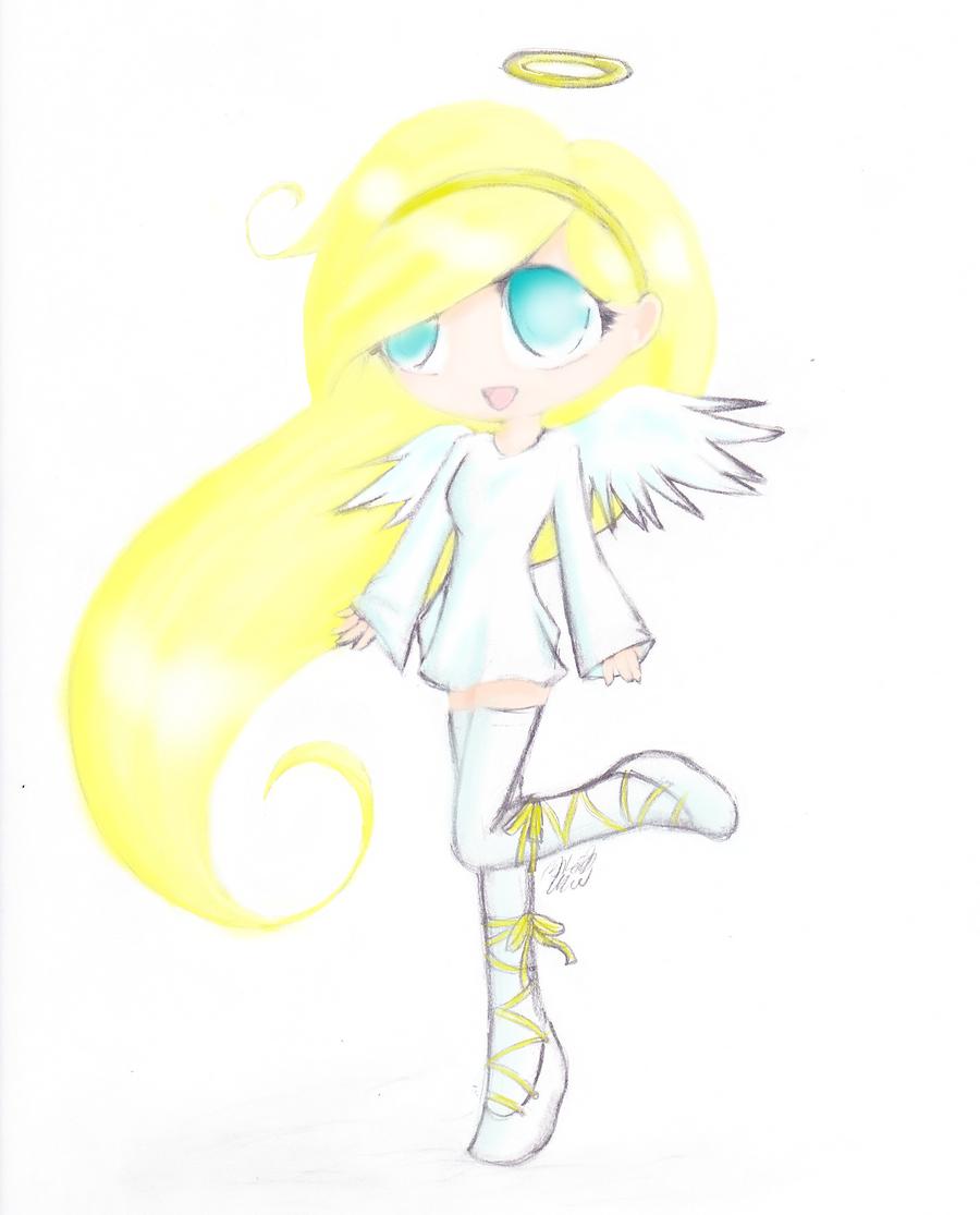 chibi angel wings - photo #31