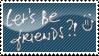 lets be friends?? by sanco