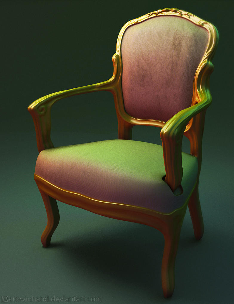 Antique victorian armchair - Antique Victorian Chair By Crowinhand On Deviantart