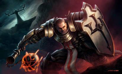 Diablo III Crusader by davidcobos