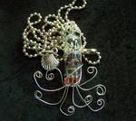 Steampunk Octopus Pendant