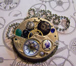 Watch Movement with Compass
