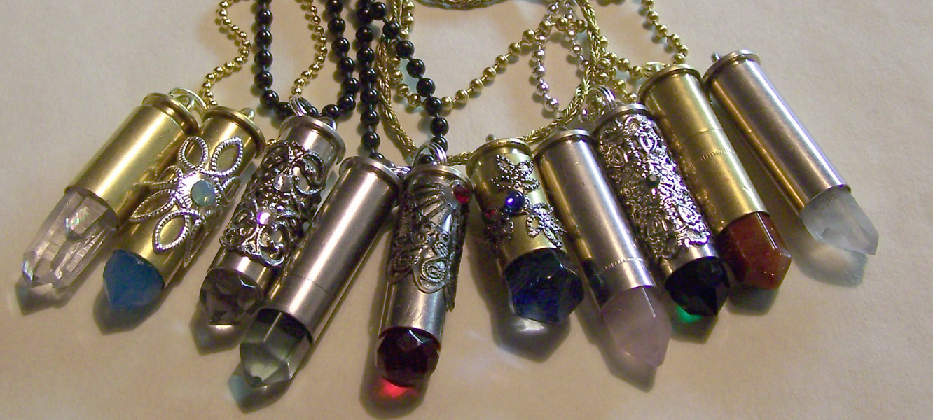 A new batch of bullet pendants by mymysticgems on deviantart a new batch of bullet pendants by mymysticgems mozeypictures Gallery