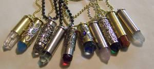 A New Batch of Bullet Pendants