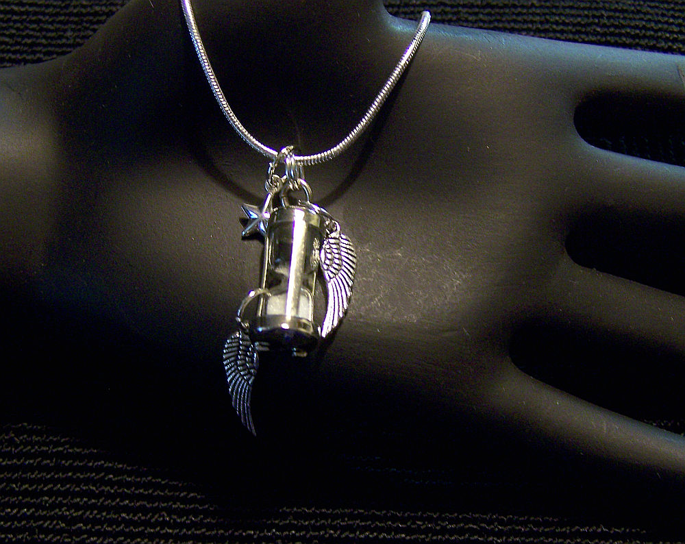 diamonique sterling wing w angel chain product com winged page pendant qvc
