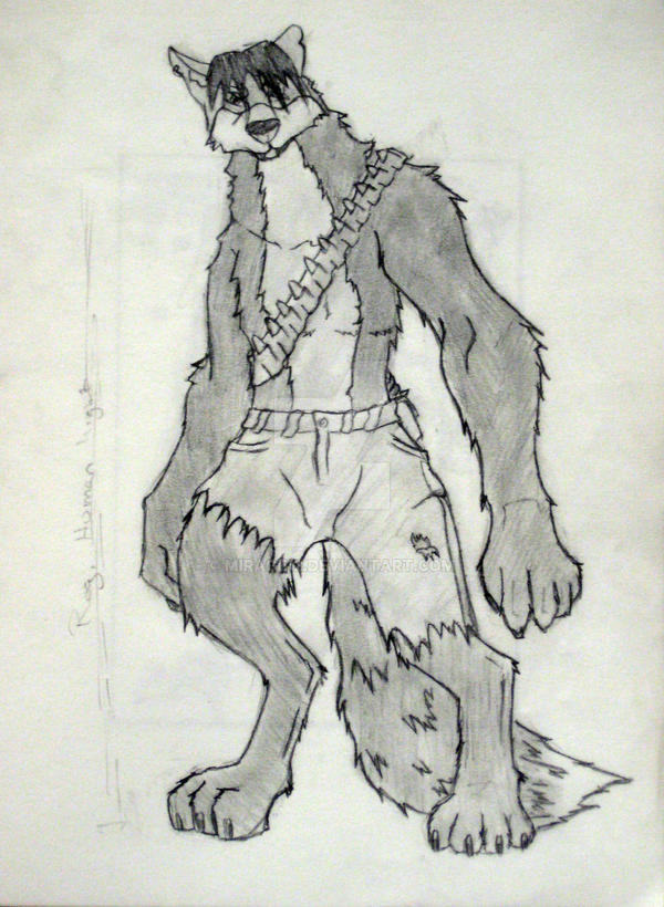 Werewolf Character by Mirage12