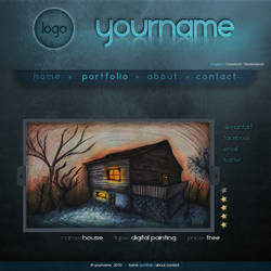 Portfolio Webdesign Template by JD94Design