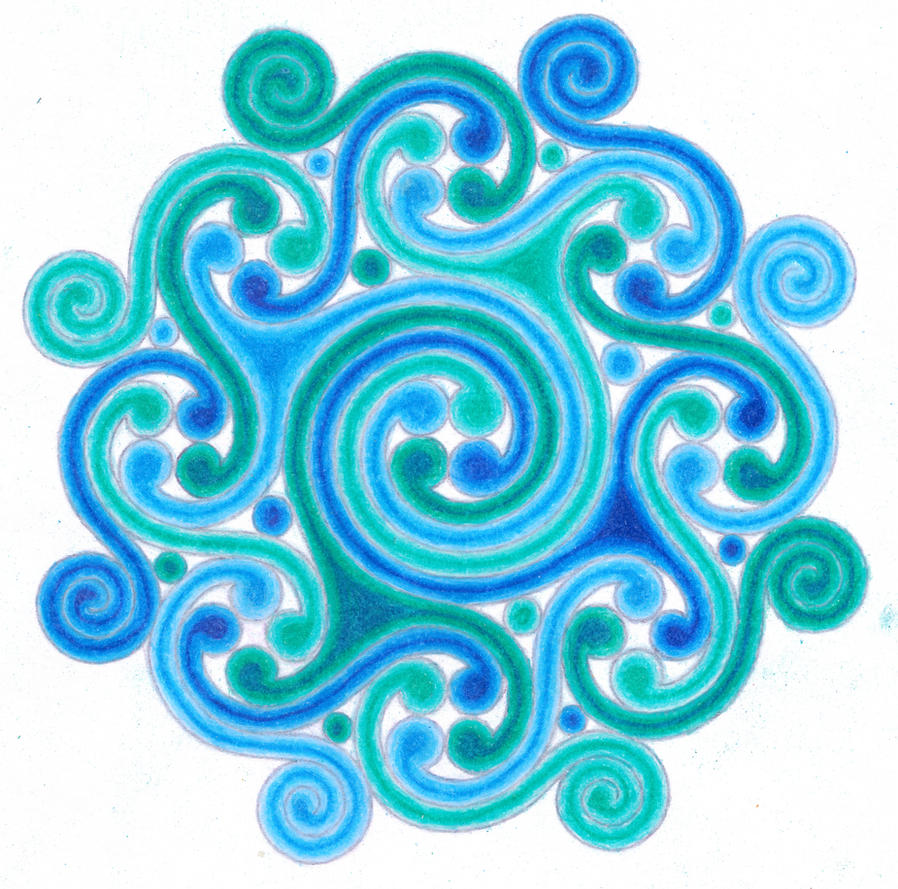 water dhamma wheel by amaquieria on deviantart
