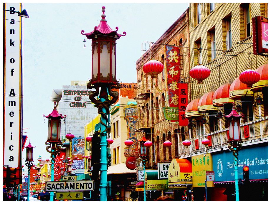 Typical Chinatown